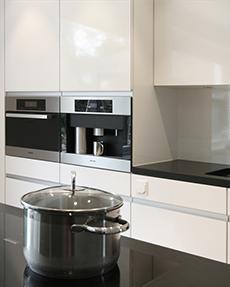 Umbau Küche Esszimmer, Wohnraum und Anbau Wintergarten in einem Einfamilienhaus
